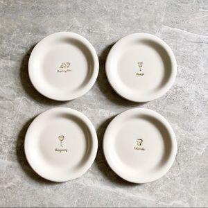 Williams Sonoma Set of 4 Dessert Plates